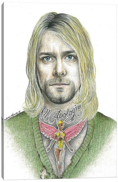 Kurt Cobain Canvas Art Print