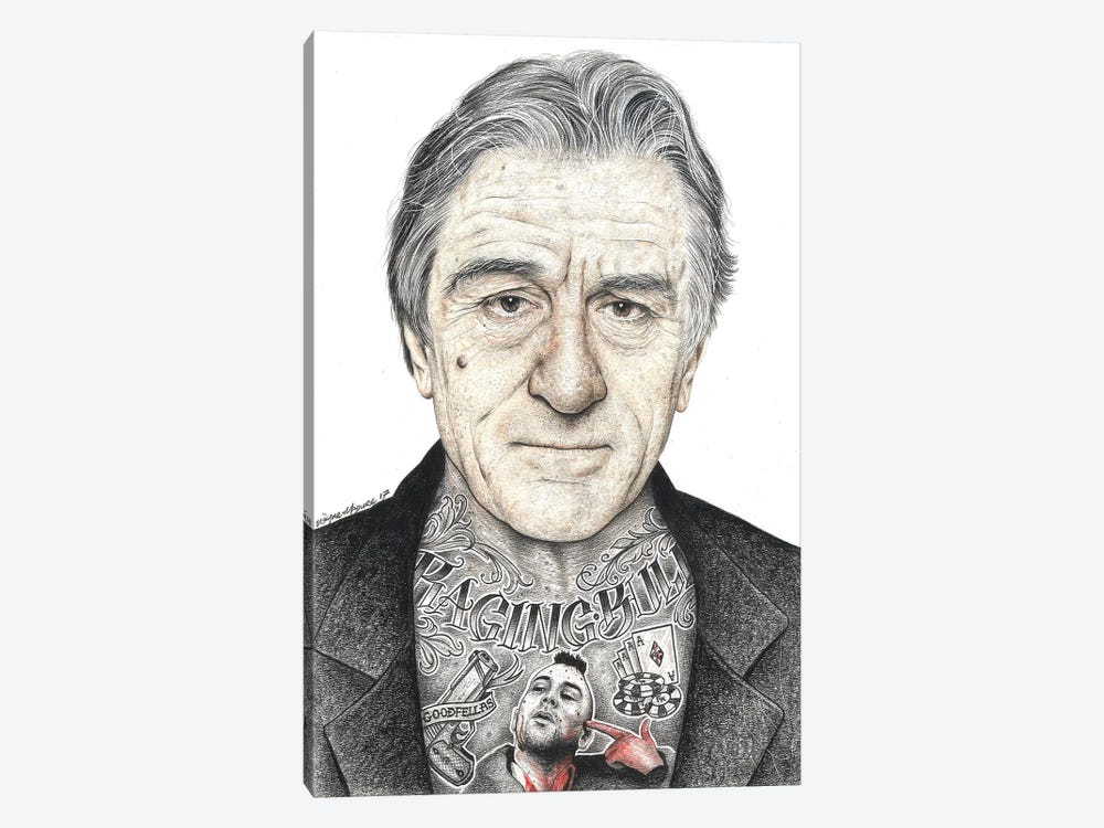 OG De Niro by Inked Ikons 1-piece Canvas Print