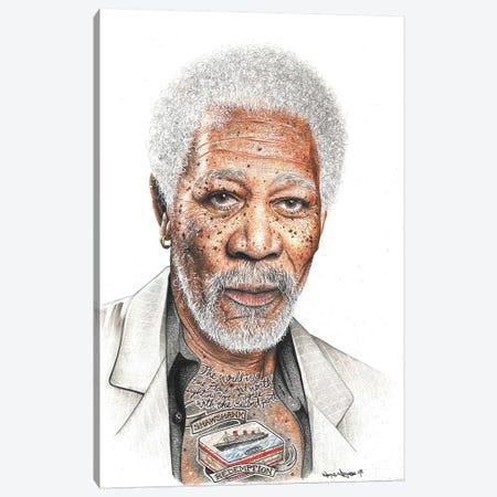 OG Freeman Canvas Print #IIK33} by Inked Ikons Canvas Art