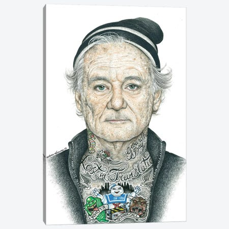 OG Murray Canvas Print #IIK34} by Inked Ikons Art Print