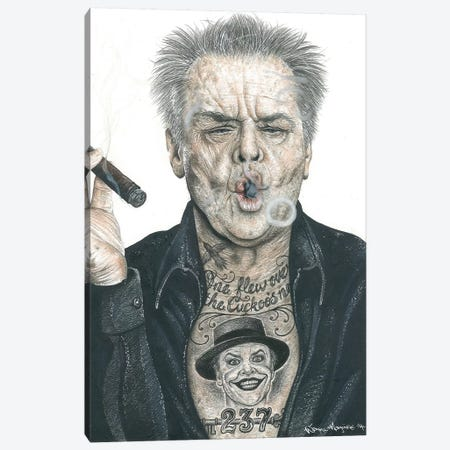 OG Nicholson Canvas Print #IIK35} by Inked Ikons Canvas Print