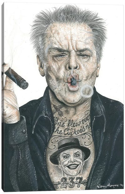 OG Nicholson Canvas Art Print