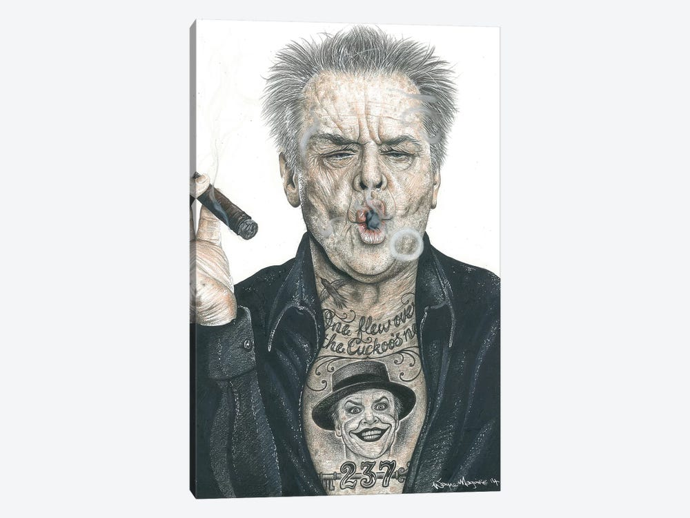 OG Nicholson by Inked Ikons 1-piece Canvas Print