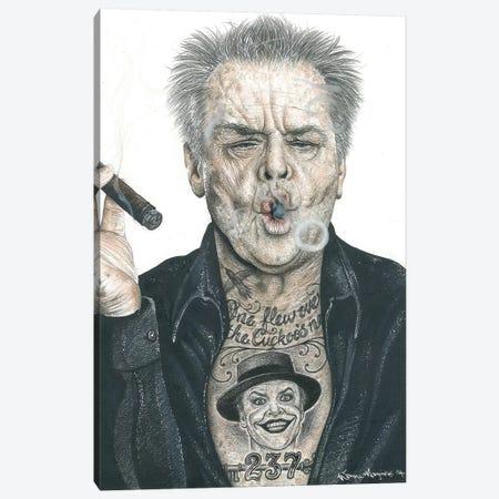 OG Nicholson Canvas Print #IIK35} by Inked Ikons Canvas Print