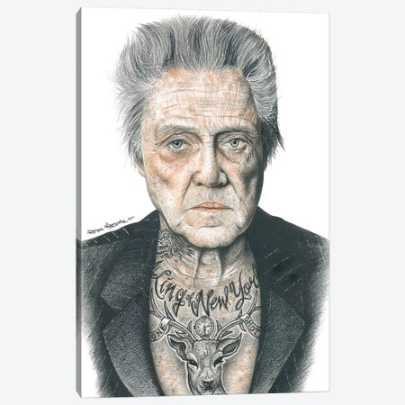 OG Walken Canvas Print #IIK36} by Inked Ikons Art Print