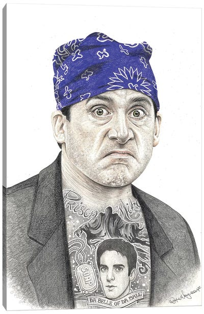 Prison Mike Canvas Art Print
