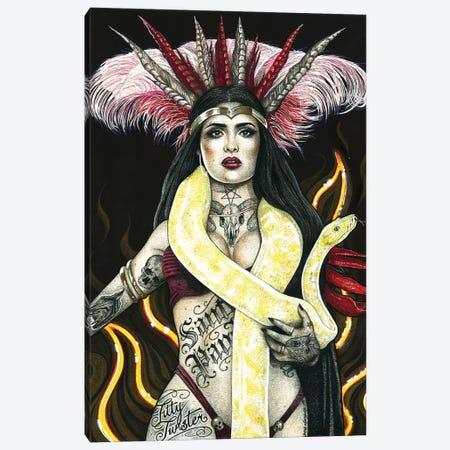 Santanico Canvas Print #IIK39} by Inked Ikons Canvas Wall Art