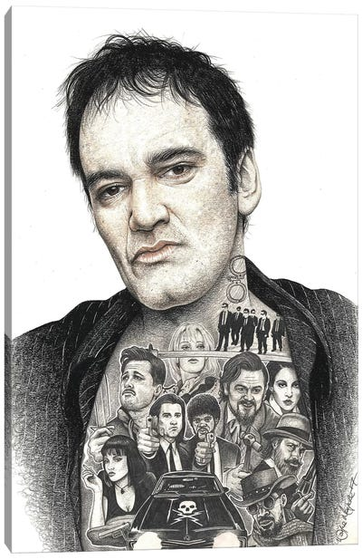 Tarantino Canvas Art Print
