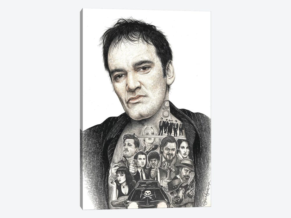 Tarantino by Inked Ikons 1-piece Canvas Artwork