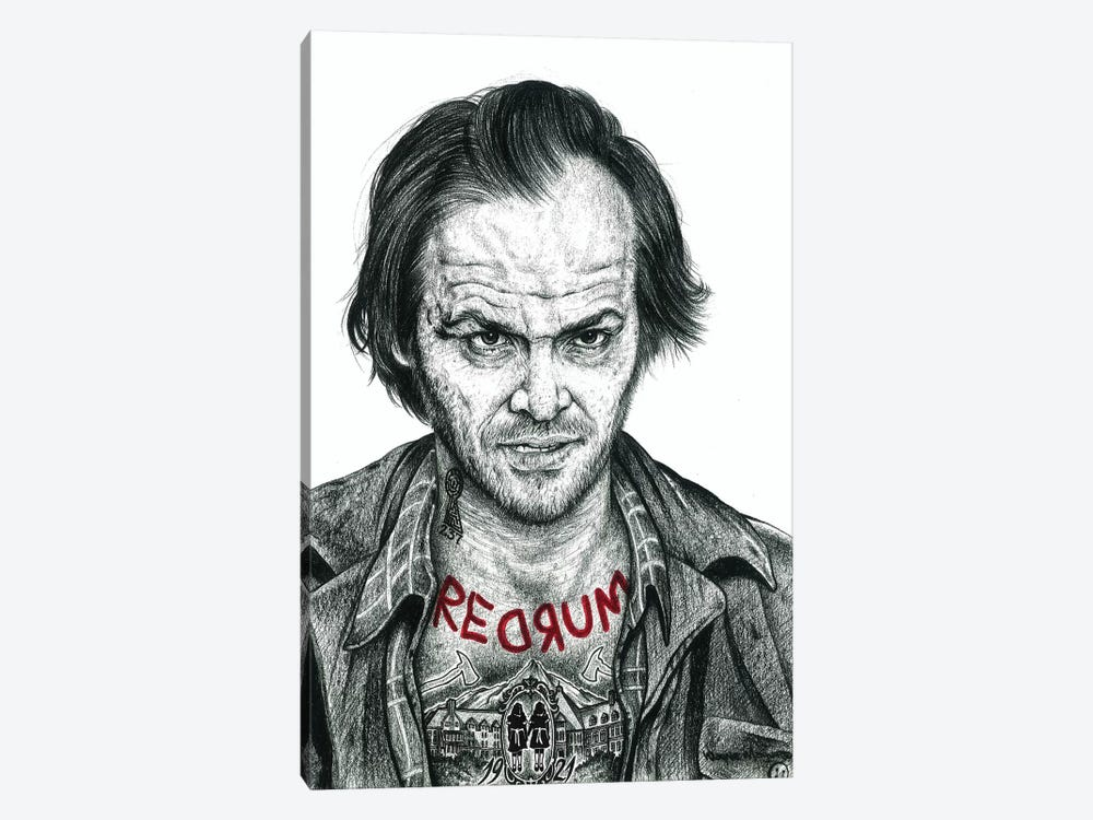 The Shining by Inked Ikons 1-piece Canvas Artwork