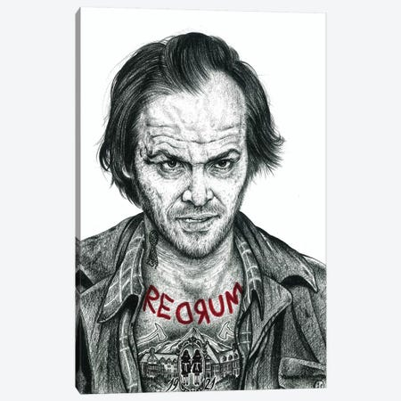 The Shining Canvas Print #IIK43} by Inked Ikons Canvas Print