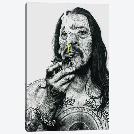 Trejo Canvas Print #IIK44} by Inked Ikons Canvas Art
