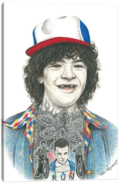 Dustin Canvas Art Print