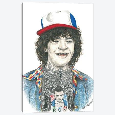 Dustin Canvas Print #IIK56} by Inked Ikons Canvas Print
