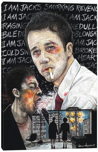 Fight Club I Canvas Art Print