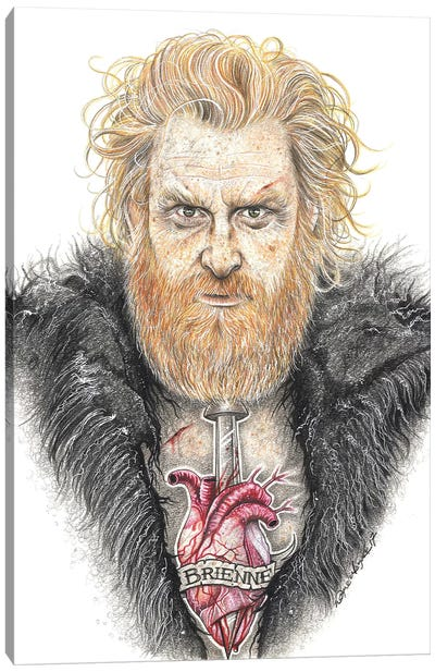 GOT Tormund Canvas Art Print