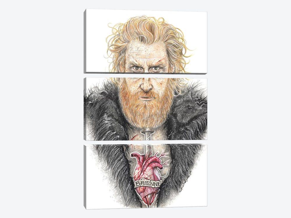 GOT Tormund by Inked Ikons 3-piece Canvas Print
