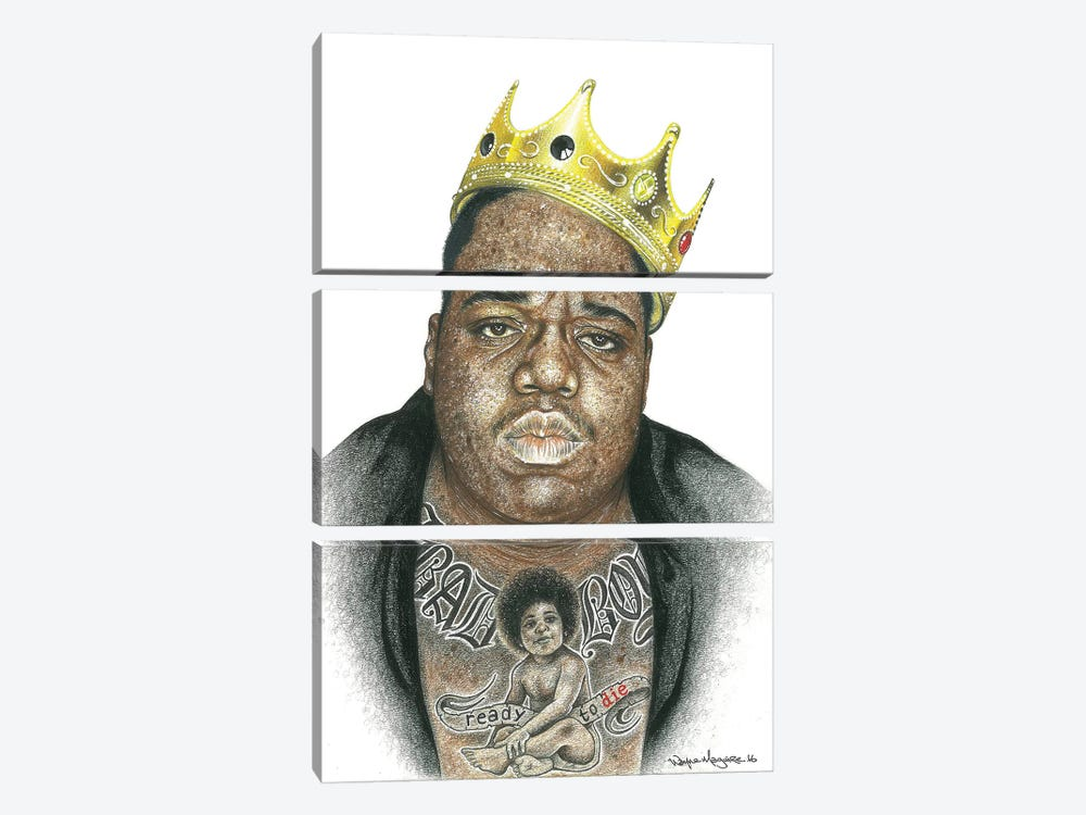 Biggie 3-piece Canvas Wall Art