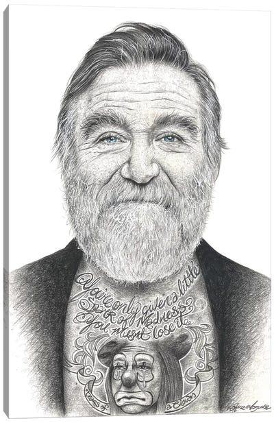 Robin Williams Canvas Art Print