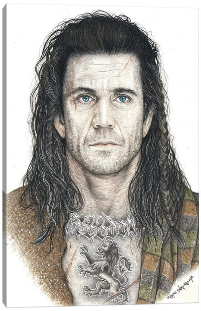 Braveheart Canvas Art Print