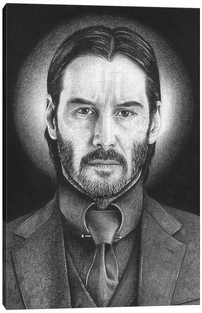 John Wick Canvas Art Print