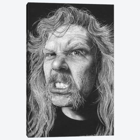 Metallica Canvas Print #IIK71} by Inked Ikons Canvas Artwork
