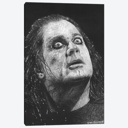 Ozzy Canvas Print #IIK72} by Inked Ikons Canvas Artwork