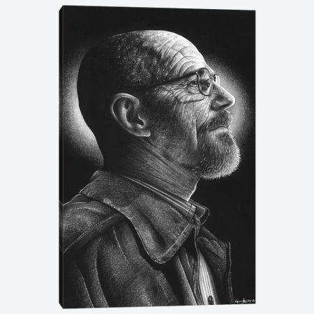 Hiesenberg Canvas Print #IIK76} by Inked Ikons Canvas Print