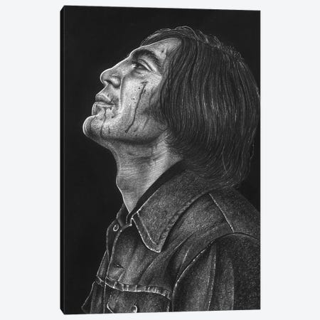 No Country for Old Men Canvas Print #IIK78} by Inked Ikons Canvas Artwork