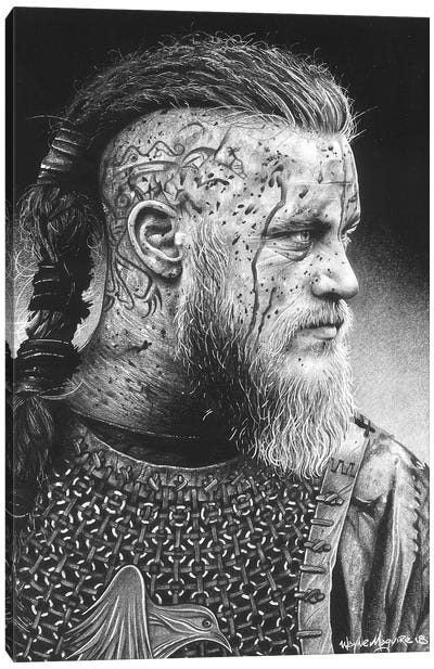Ragnar Canvas Art Print