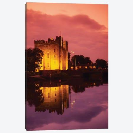 Bunratty, County Clare, Ireland; Bunratty Castle 3-Piece Canvas #IIM11} by Irish Image Collection Canvas Artwork