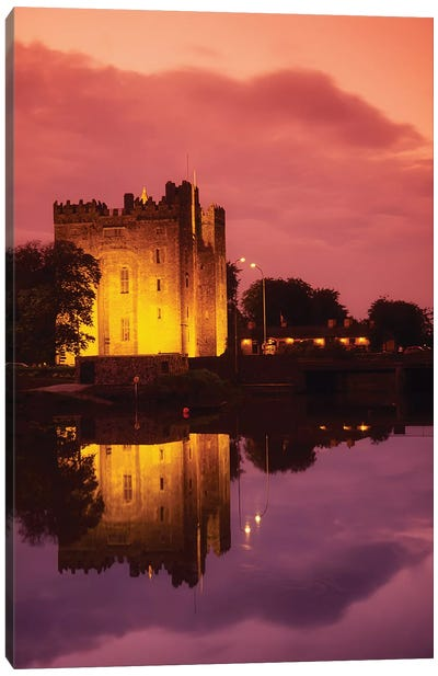 Bunratty, County Clare, Ireland; Bunratty Castle Canvas Art Print