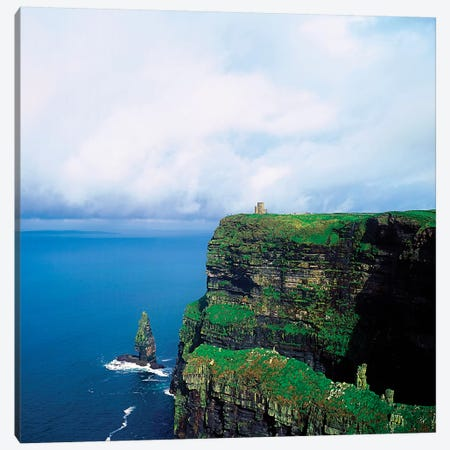 Cliffs Of Moher, Co Clare, Ireland Canvas Print #IIM14} by Irish Image Collection Canvas Art Print