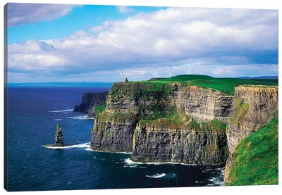 Cliffs Of Moher, Co Clare, Ireland Canvas Art Print