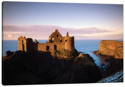 Co Antrim, Northern Ireland, Dunluce Castle Canvas Art Print