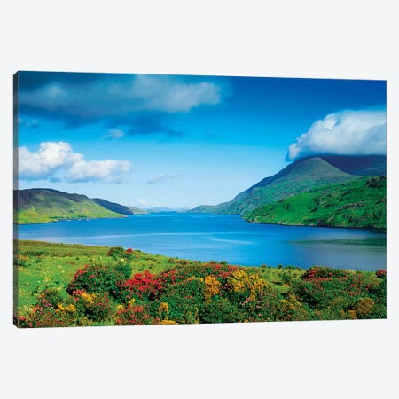 Co Galway, Killery Harbour, Canvas Print #IIM23} by Irish Image Collection Canvas Print