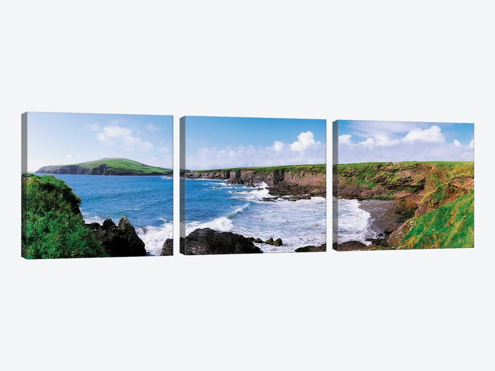 Co Kerry, Dingle, by Irish Image Collection 3-piece Canvas Wall Art