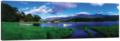 Co Kerry, Killarney-Upr Lake, Carrantuohill & Purple Mtns Canvas Art Print