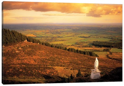 Co Tipperary, Statue Of The Madonna, The Devils Bit Templemore Canvas Art Print