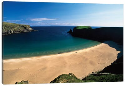 An Tra Ban Beach Near Malin Beg, County Donegal, Ireland Canvas Art Print