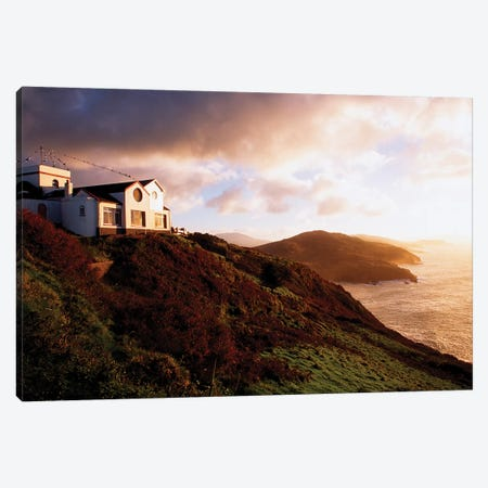 Dzogchen Beara, Tibetan Buddhist Retreat Centre, Beara Peninsula, Co Cork, Ireland Canvas Print #IIM39} by Irish Image Collection Canvas Artwork