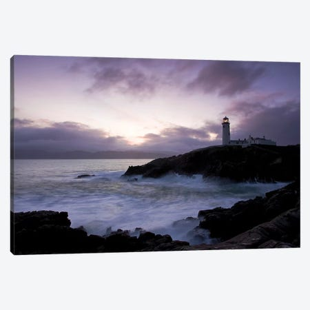 Fanad Head, County Donegal, Ireland; Lighthouse And Seascape Canvas Print #IIM42} by Irish Image Collection Canvas Print