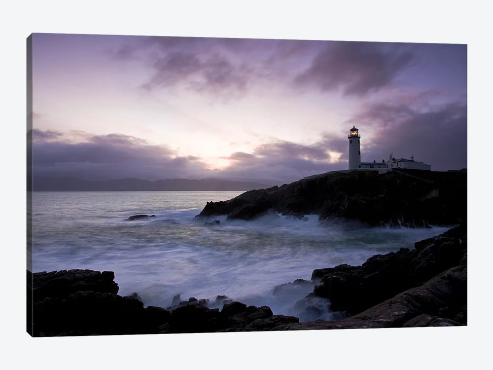 Fanad Head, County Donegal, Ireland; Lighthouse And Seascape by Irish Image Collection 1-piece Art Print