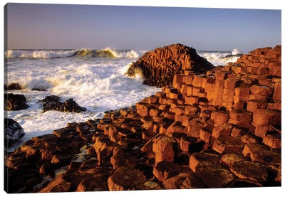Giant's Causeway, County Antrim, Ireland Canvas Art Print