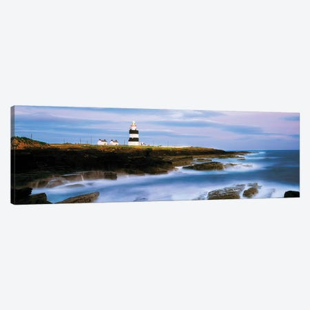 Hook Head Lighthouse, Co Wexford, Ireland, Lighthouse On The Atlantic Canvas Print #IIM55} by Irish Image Collection Canvas Art Print
