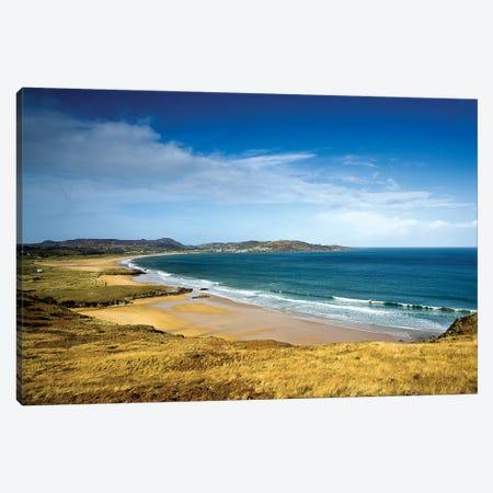Portsalon, County Donegal, Ireland; Beach Scenic Canvas Print #IIM69} by Irish Image Collection Canvas Art Print
