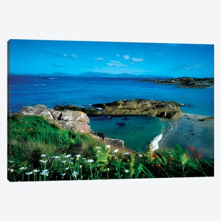 Ring Of Kerry, Co Kerry, Ireland Canvas Print #IIM70} by Irish Image Collection Canvas Wall Art