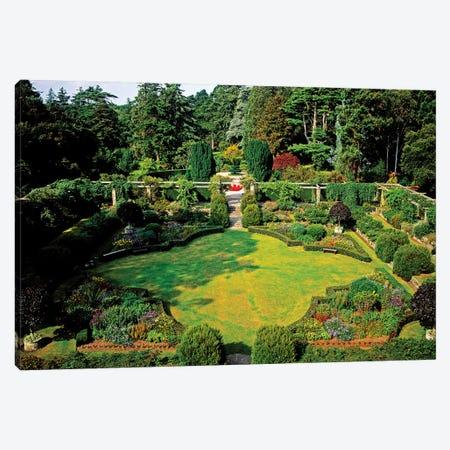 Sunken Garden, Mount Stewart, Ards Peninsula, Co Down, Ireland Canvas Print #IIM75} by Irish Image Collection Canvas Art Print