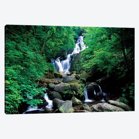 Torc Waterfall, Killarney National Park, County Kerry, Ireland Canvas Print #IIM78} by Irish Image Collection Canvas Wall Art