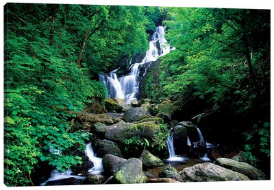 Torc Waterfall, Killarney National Park, County Kerry, Ireland Canvas Art Print